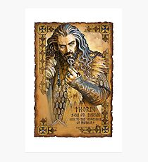 Thorin Photographic Print