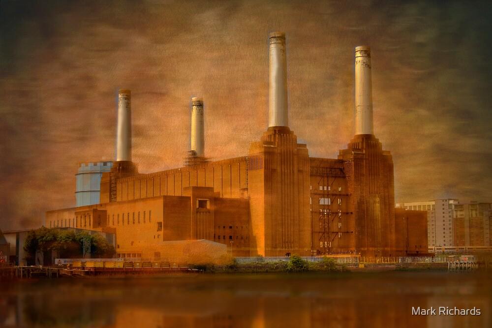 Industrial Grandeur - Old Power Station, London, Britain by Mark Richards