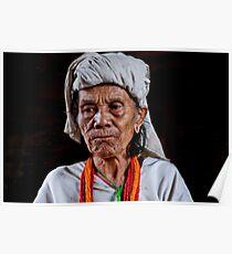Hill Tribe Elder Poster