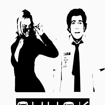 Chuck and Sarah by KatieJMiller