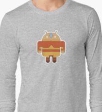 Aangdroid (no text) Long Sleeve T-Shirt