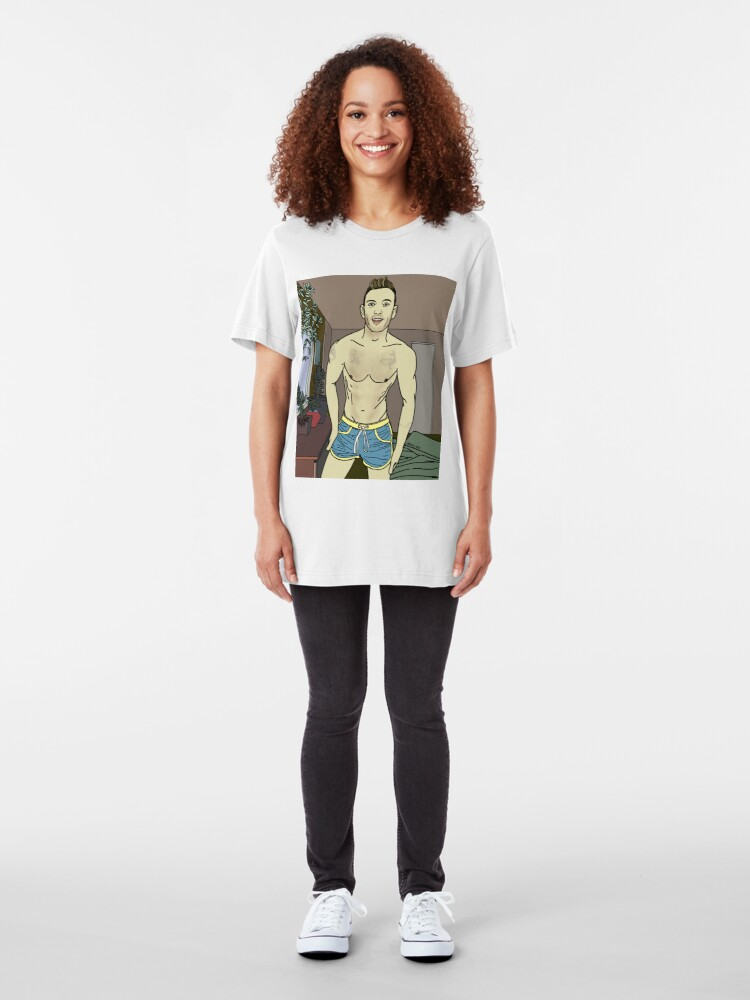 Alternate view of @kinseyblais Slim Fit T-Shirt