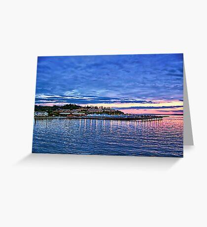 Edmonds Harbor Greeting Card