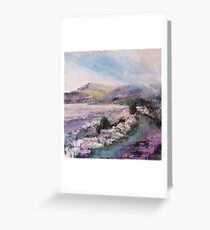 Return from Moy Castle, Isle of Mull Greeting Card
