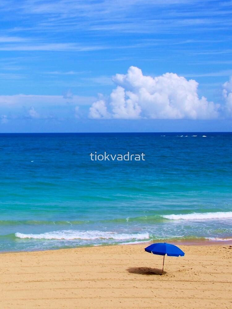 Beautiful Beach Scene by tiokvadrat