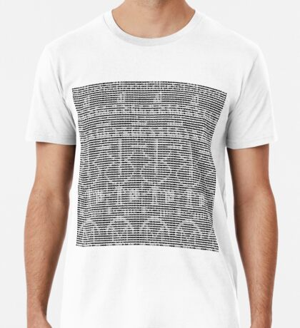 The Arecibo Message 0001 Premium T-Shirt