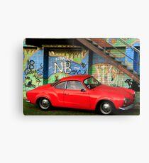 Red Karmann Ghia Metal Print