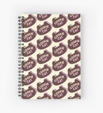 Cookie Cat Icecream Sandwich Spiral Notebook