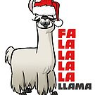Fa La La Llama by binarygod