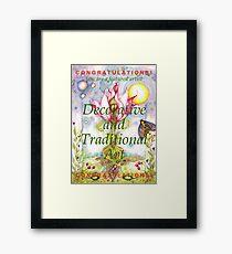 featured artist banner Framed Print