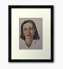 Daphney Framed Print