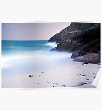 White Sands-Tropical Cornwall-Porthcurno 2 Poster