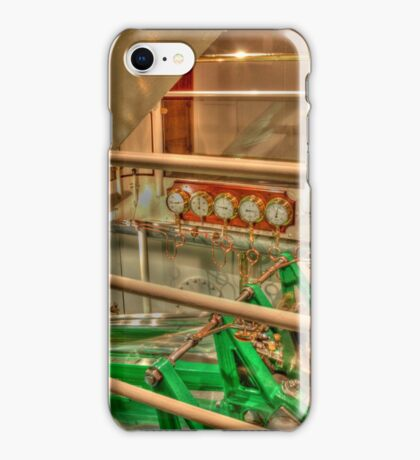 Steam boat engine iPhone Case/Skin