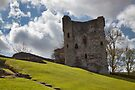 Peveril Castle by Ray Clarke