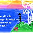 Psalm 91:11 by knightingail