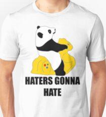 Haters Gonna Hate: Panda Unisex T-Shirt