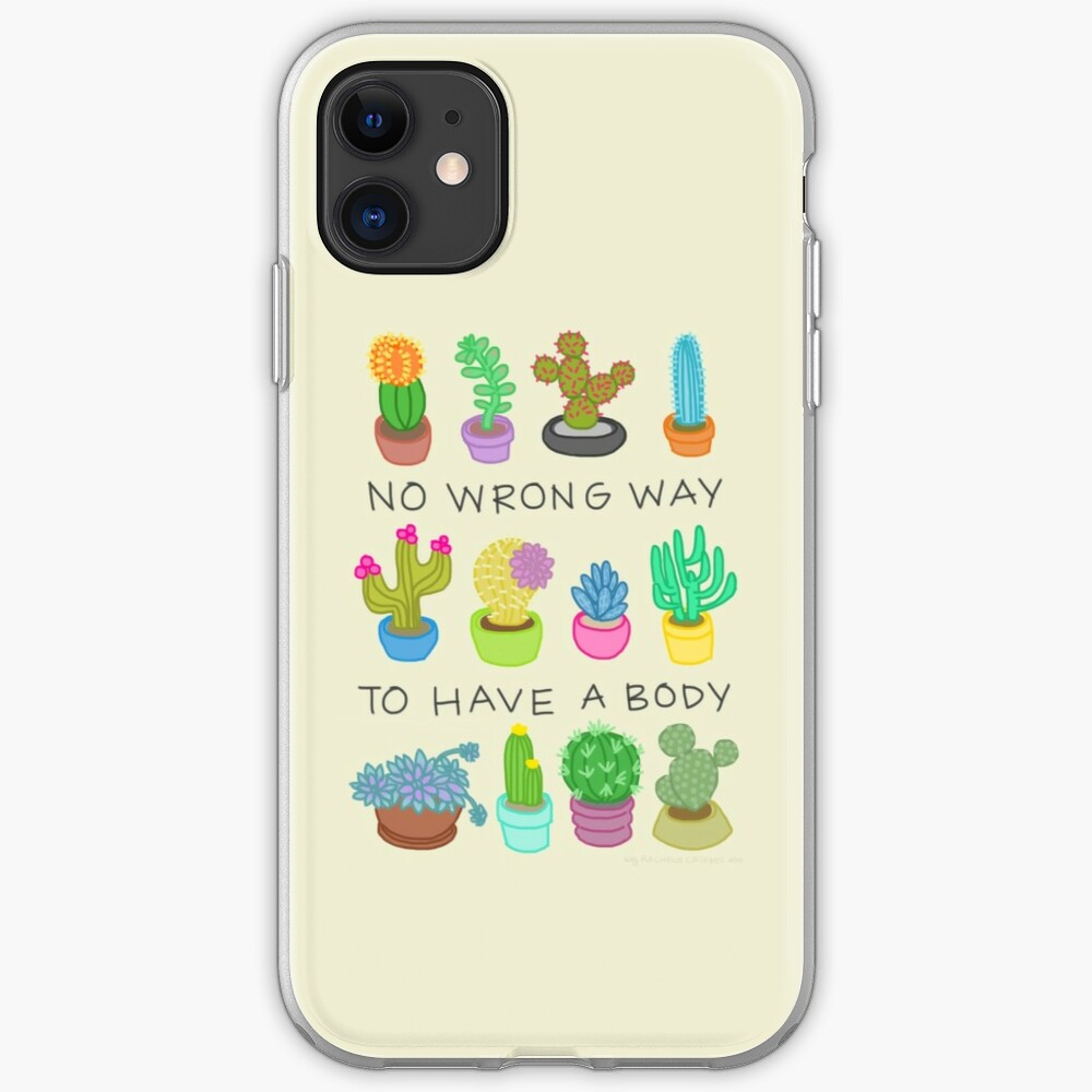 No Wrong Way to Have a Body iPhone Case & Cover