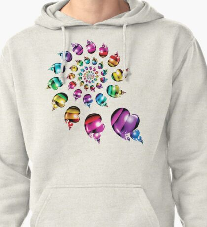 Rainbow Heart Wheel T-Shirt