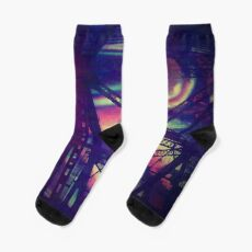 bridgeglitch Socks