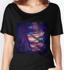 bridgeglitch Relaxed Fit T-Shirt