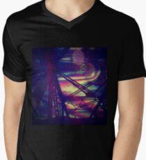 bridgeglitch V-Neck T-Shirt