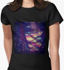 bridgeglitch Fitted T-Shirt