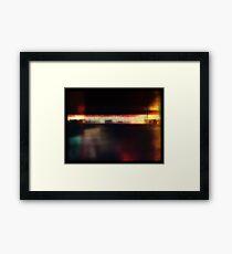 remaining light Framed Print