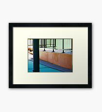 Historic Abstract 2 Framed Print