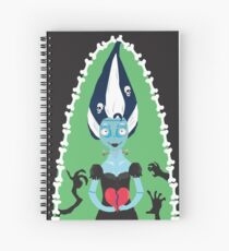 The Bride Of Frankenstein- Tim Burton Style Spiral Notebook