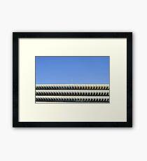 Preston Bus Station Tops Framed Print