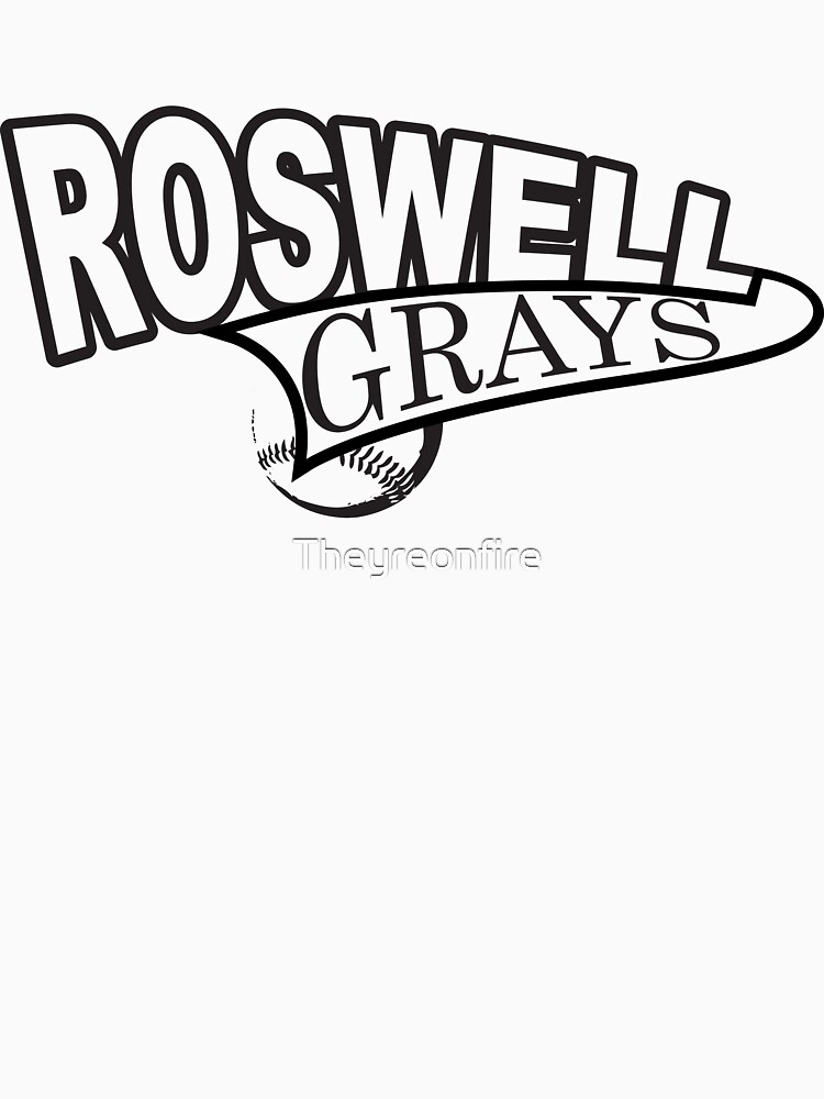 Roswell Grays Baseball by Theyreonfire