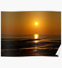 Fylde Sunset Poster