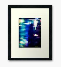 let's hear it for the vague blur Framed Print