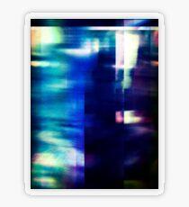 let's hear it for the vague blur Transparent Sticker