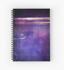 travel by monorail Spiral Notebook