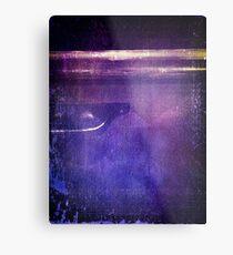 travel by monorail Metal Print