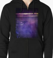 travel by monorail Zipped Hoodie