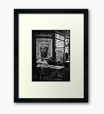 """Ben Laden"" Framed Print"