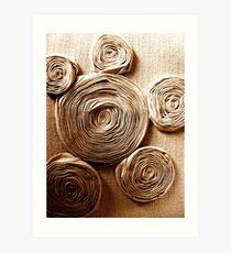 Fabric Landscape Art Print