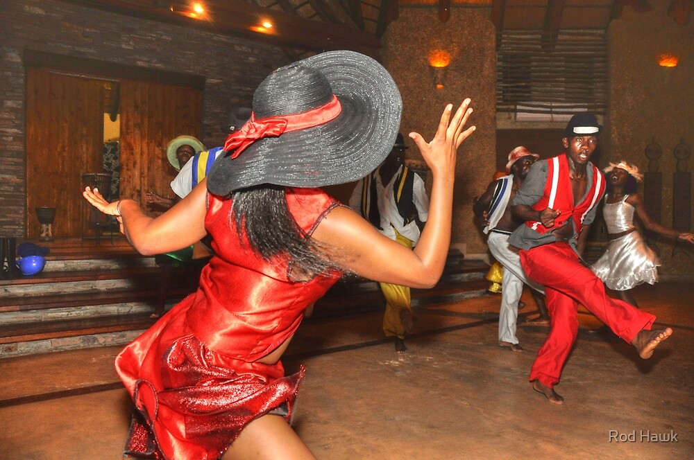 South Africa Dance by Rod Hawk