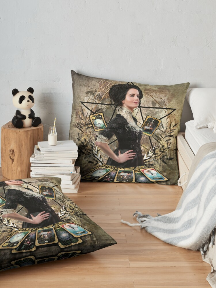 Alternate view of Vanessa Ives Tarot - Penny Dreadful Floor Pillow