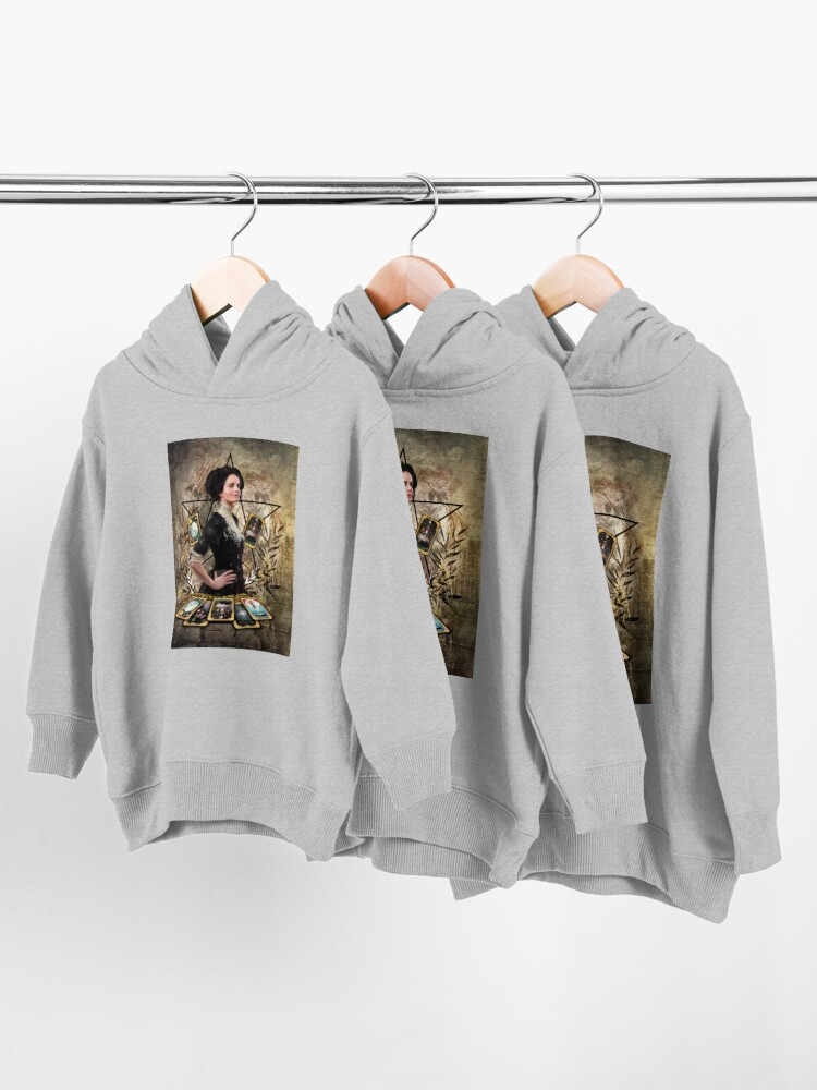 Alternate view of Vanessa Ives Tarot - Penny Dreadful Toddler Pullover Hoodie