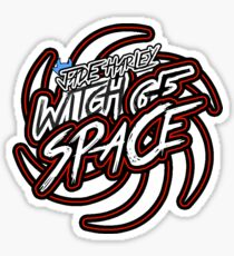 Homestuck Jade Harley Witch Of Space Title Logo Sticker