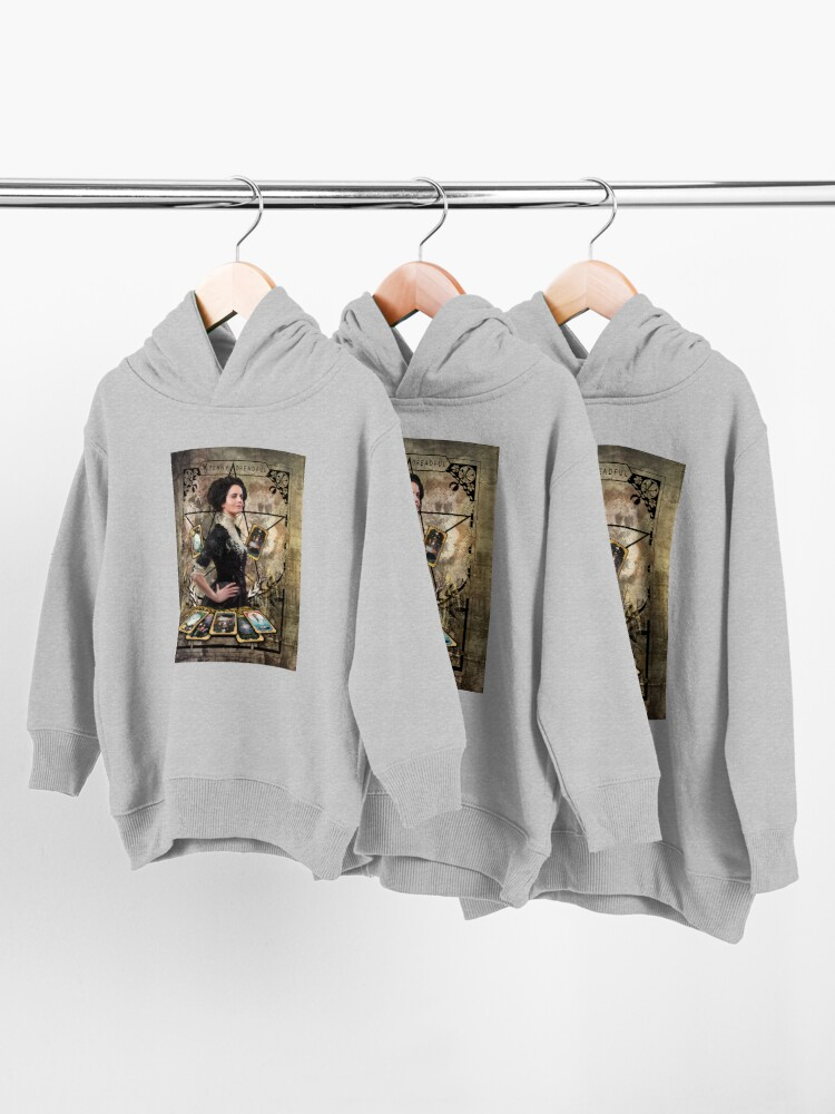 Alternate view of Vanessa Ives Tarot Edge - Penny Dreadful Toddler Pullover Hoodie