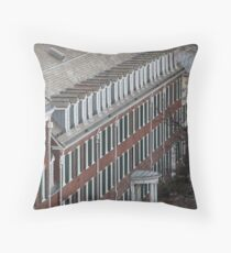 Windows and More Windows Throw Pillow