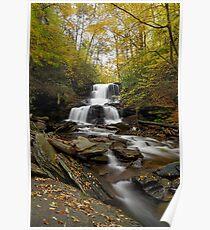 Tuscarora Falls (Autumn) Poster