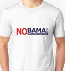 NOBAMA 2012 - Once Was Enough T-shirt Unisex T-Shirt