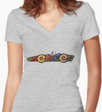 Wacky Races Women's Fitted V-Neck T-Shirt