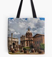 Roman Buildings Tote Bag