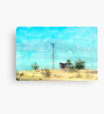 California Shack Canvas Print